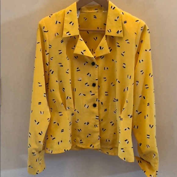Retro Blouse Mini Pop Short-Sleeve Button Up Vintage Polka Dot Floral Top Summer Clothes Collar Shirt Punky Brewster 80/'s